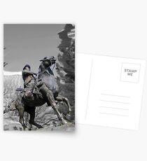 Pancho Villa rides through Tucson Postcards
