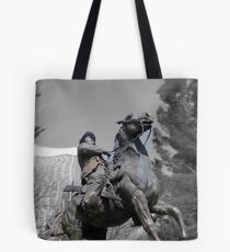 Pancho Villa rides through Tucson Tote Bag