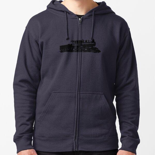 train t-shirt Zipped Hoodie
