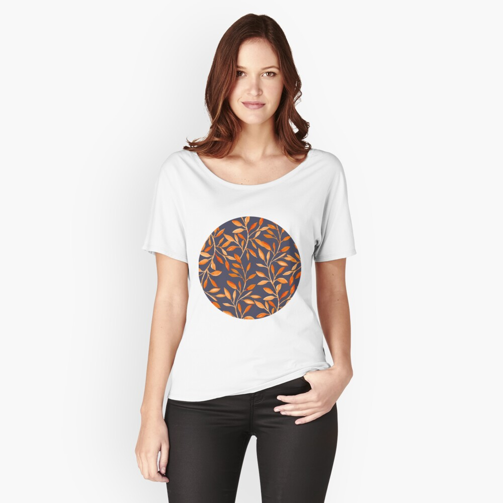 Autumn pattern Relaxed Fit T-Shirt