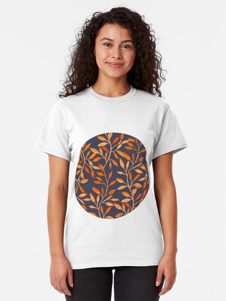 Alternate view of Autumn pattern Classic T-Shirt