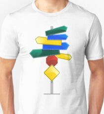 Direction Sign Unisex T-Shirt