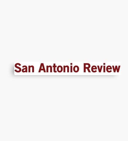 San Antonio Review Canvas Print
