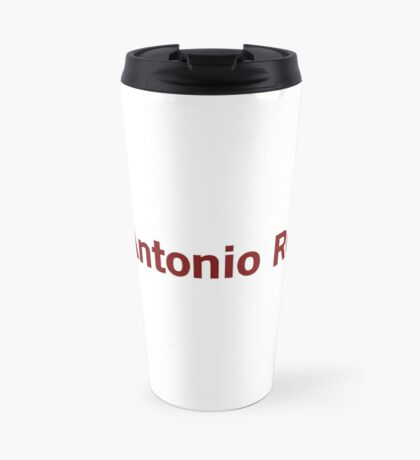 San Antonio Review Travel Mug