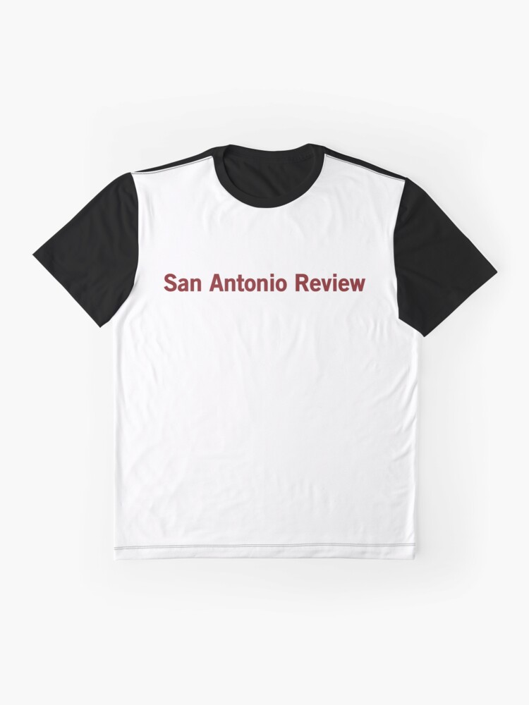 Alternate view of San Antonio Review Graphic T-Shirt