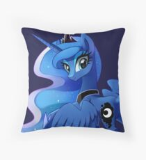 Princess Luna Throw Pillow
