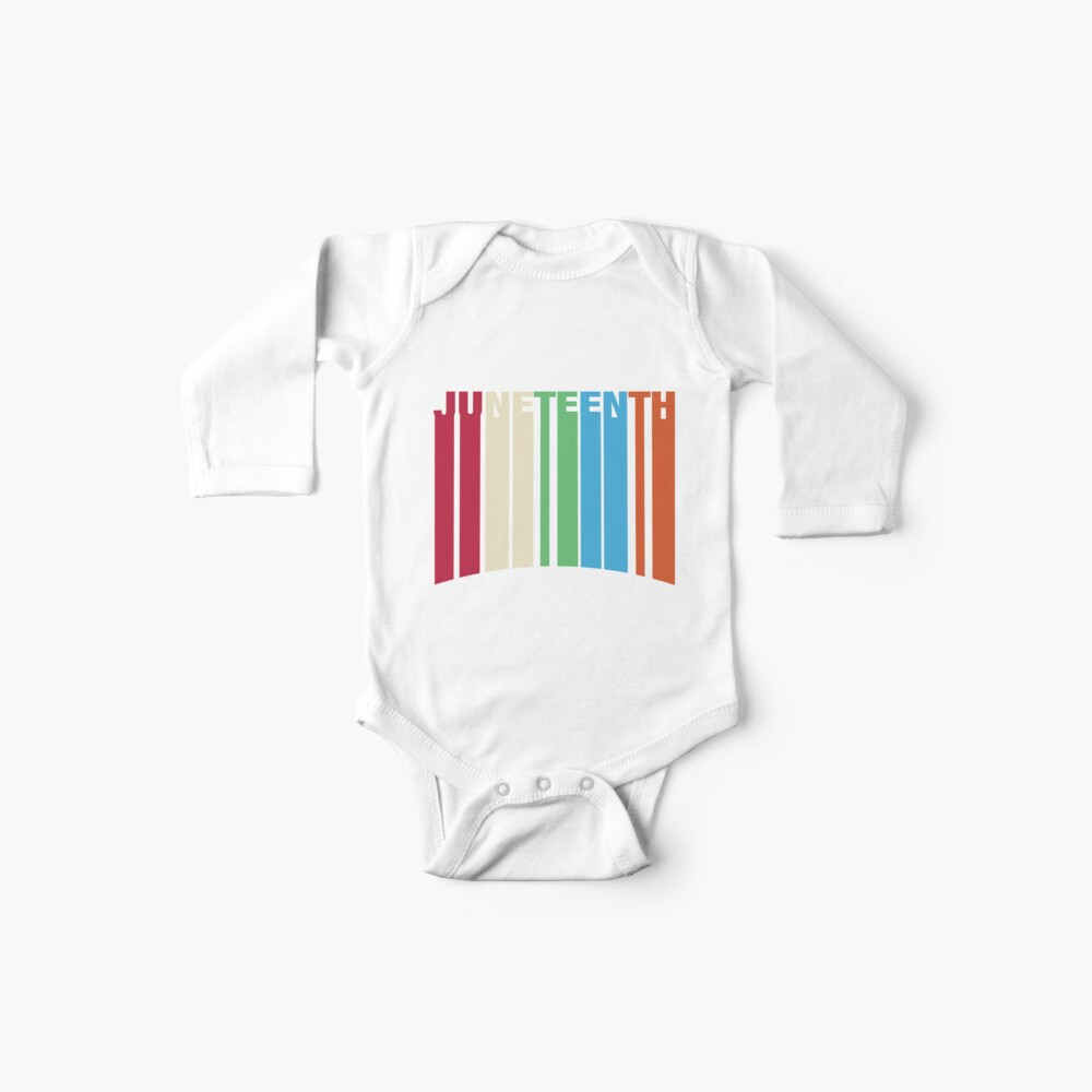 Juneteenth Retro Style Baby One-Piece