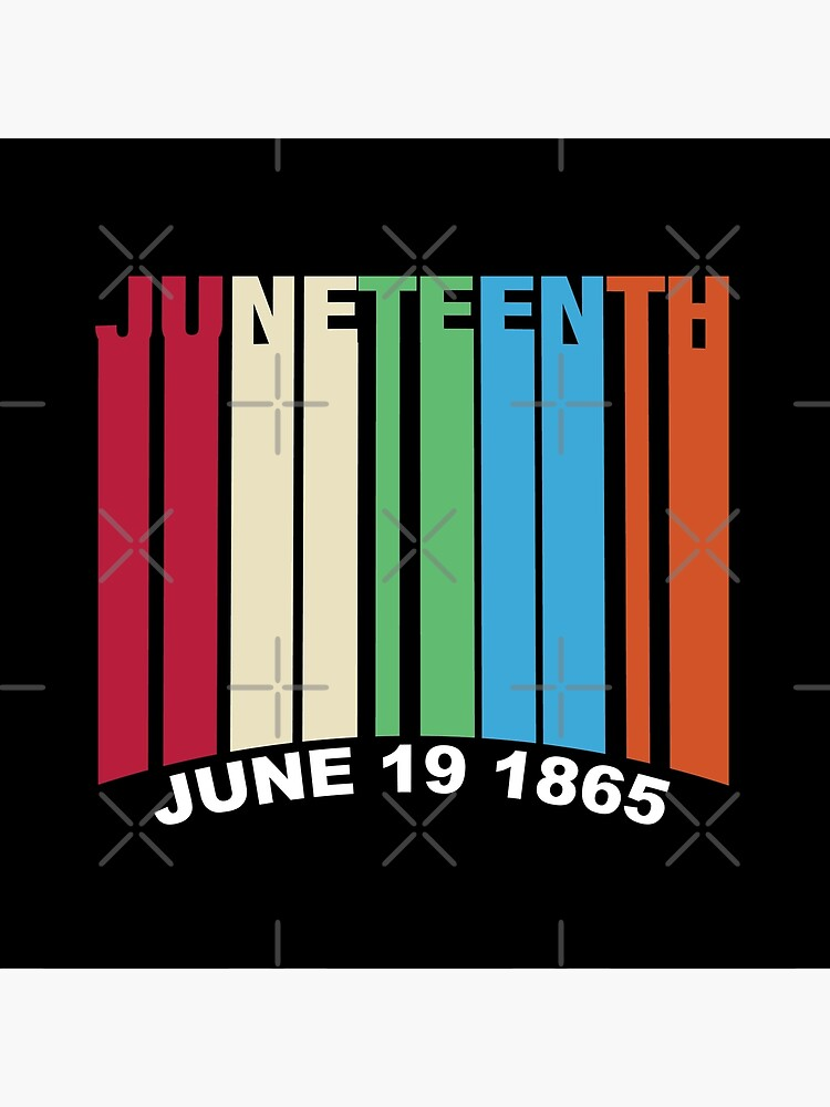 Juneteenth Retro Style by blackartmatters