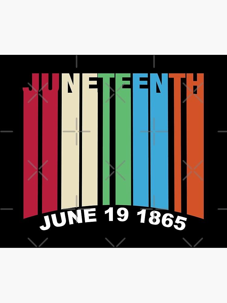 Juneteenth Retro Style by blackartmatters
