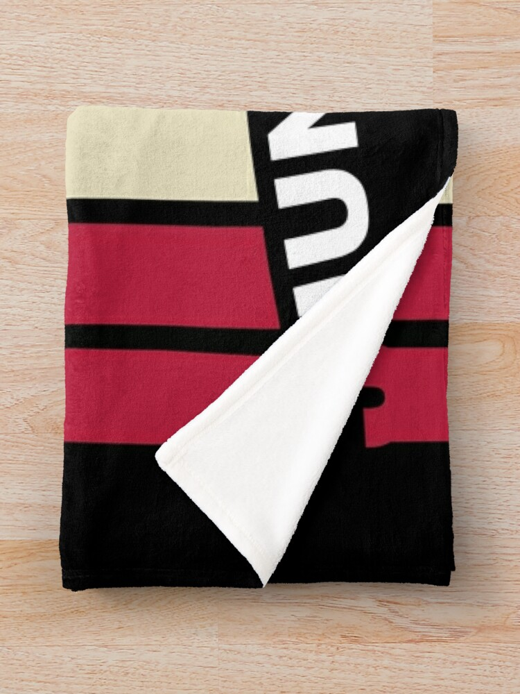 Alternate view of Juneteenth Retro Style Throw Blanket