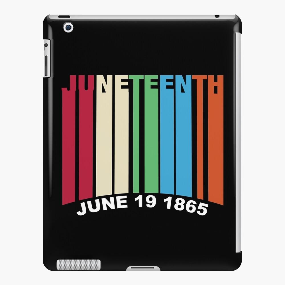 Juneteenth Retro Style iPad Case & Skin