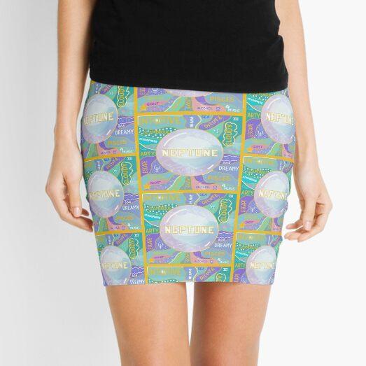 Neptune Planetary Ruler of Pisces Mini Skirt