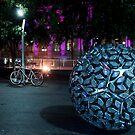 Brisbane by night... by Nicole Goggins