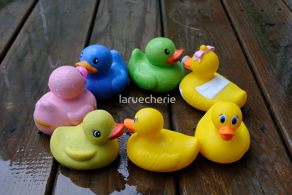Duck, Duck, Duck...Wait, Where's the Goose? by laruecherie