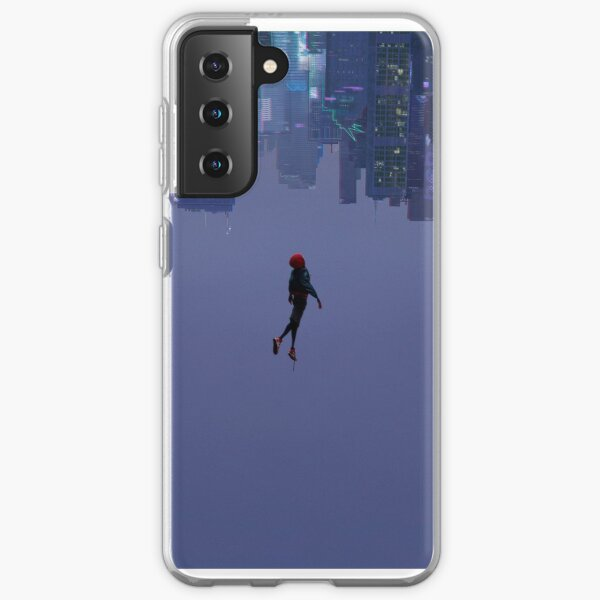 Miles Morales Falling Wide Samsung Galaxy Soft Case