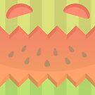 Wassermelonen-Monster von kokorogue