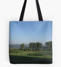 Humid Morning Tote Bag