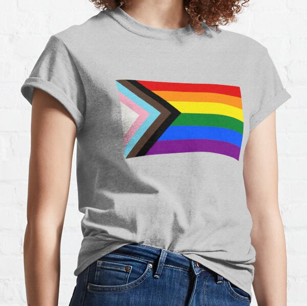 Progress Pride Flag Classic T-Shirt