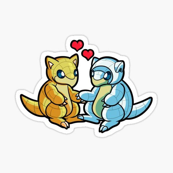 Sandshrew Love Sticker