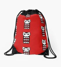 Wise Owl Drawstring Bag