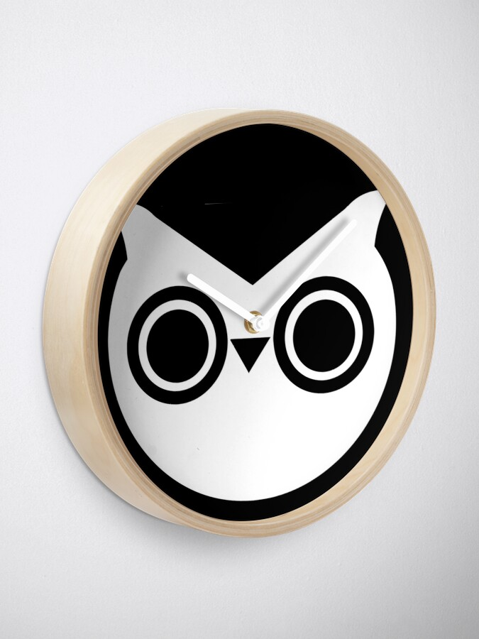 Alternate view of  Wise Owl Clock