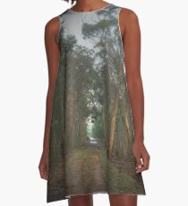 Walk in the Woods A-Line Dress