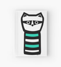 Troublesome Raccoon Hardcover Journal