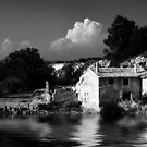 The house on the river by marcopuch
