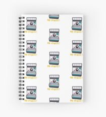 Retro Instant Camera Spiral Notebook
