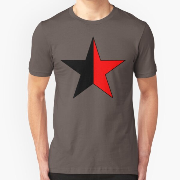Anarchist Communism Slim Fit T-Shirt