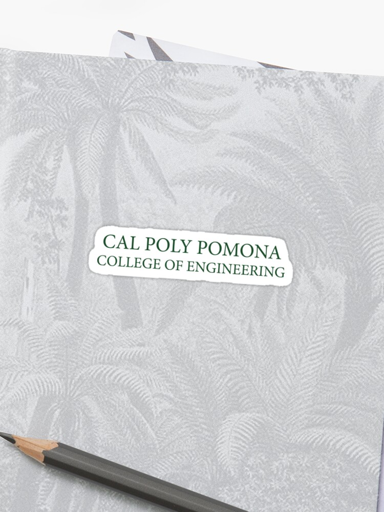 Cal Poly Pomona - College of Engineering | Sticker