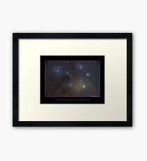 Rho Ophiuchus Region Framed Print