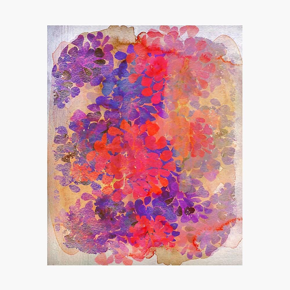 florale Komposition Fotodruck