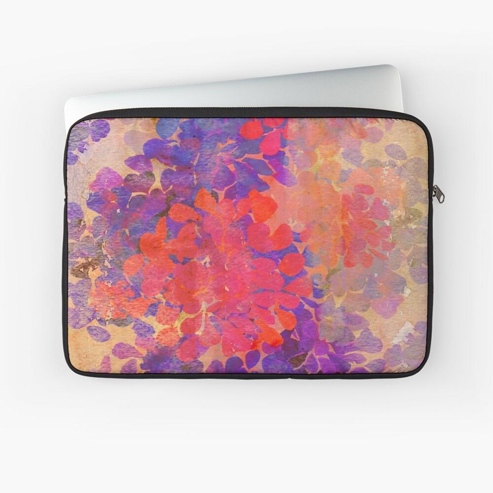 florale Komposition Laptoptasche