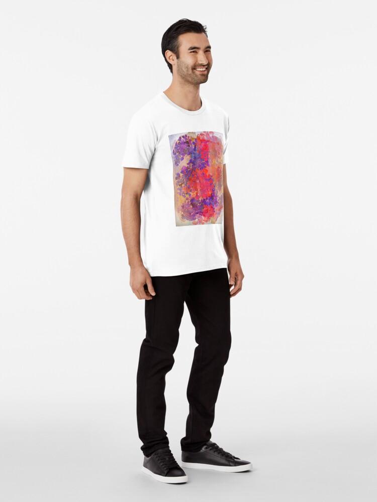 Alternative Ansicht von florale Komposition Premium T-Shirt