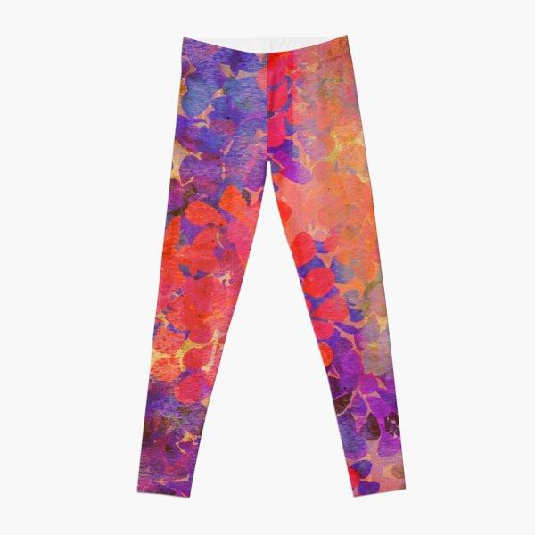 floral composition Leggings