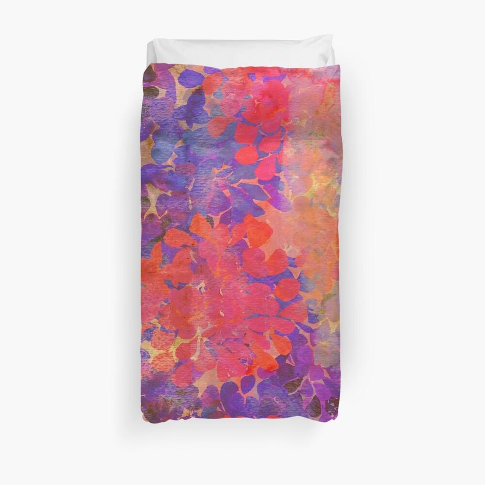 floral composition Duvet Cover
