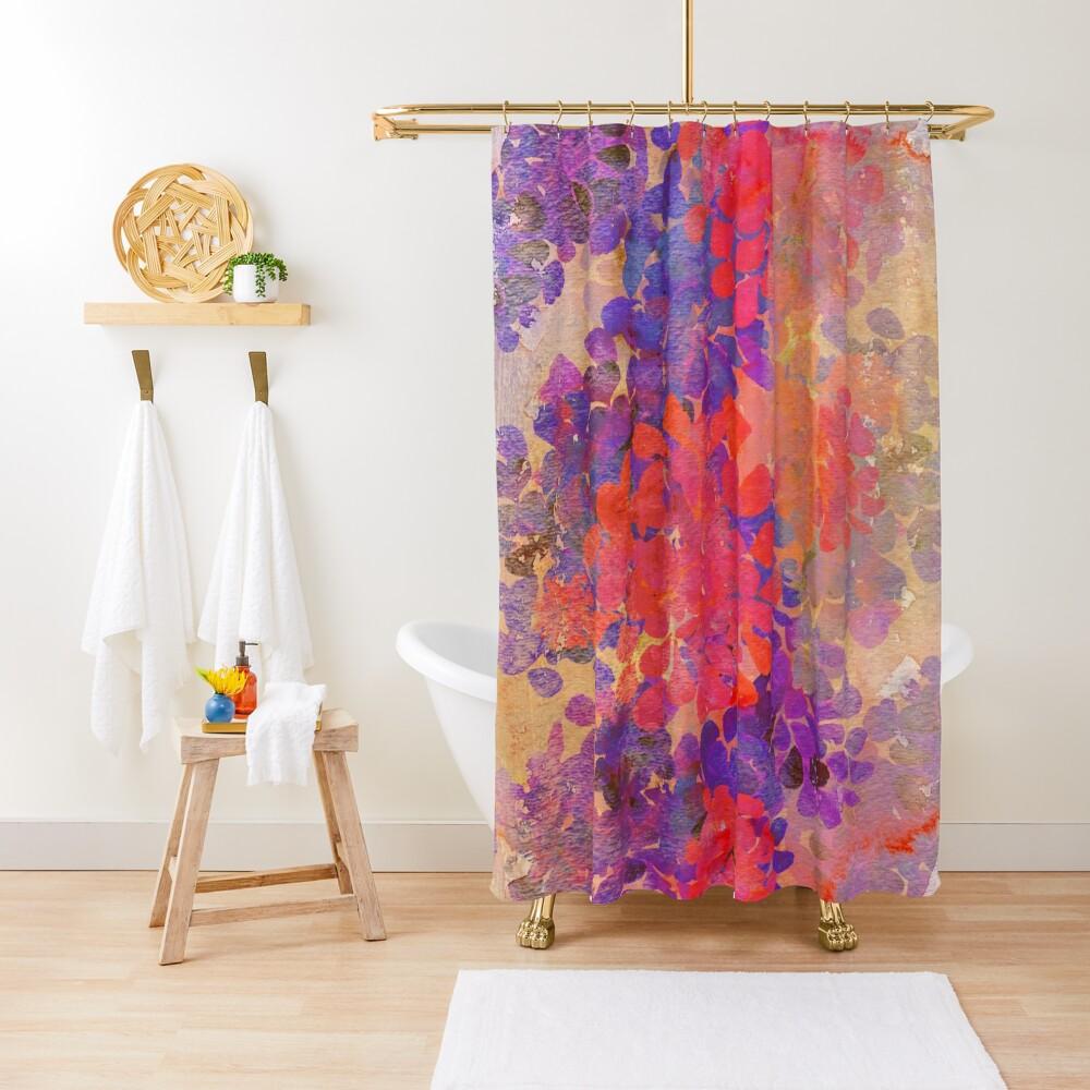 florale Komposition Duschvorhang