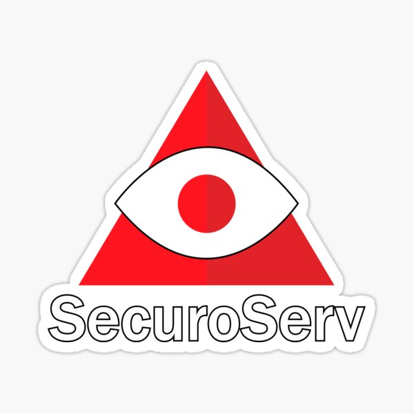 T-shirt SecuroServ Sticker