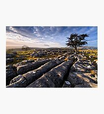 Limestone Country, Ribblesdale - The Yorkshire Dales Photographic Print