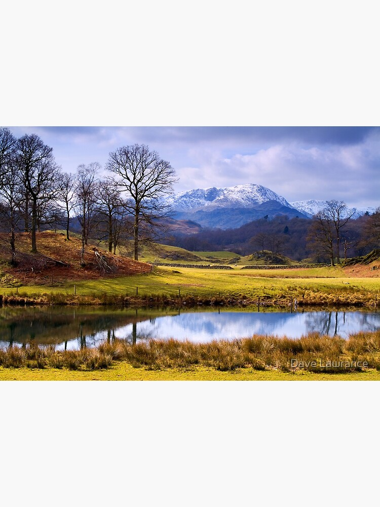 Wetherlam from The Brathay - The Lake District by DLLP