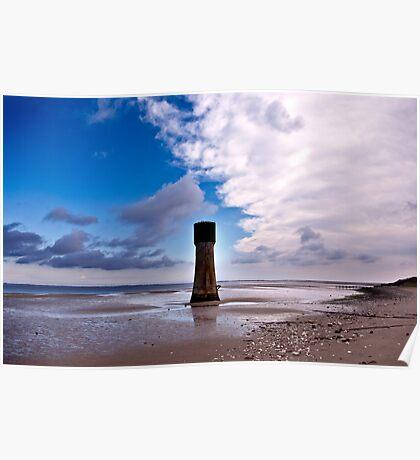 Humber Estuary - Tides Out Poster