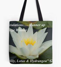 Runner Up Banner ~ Lotus ~ Tote Bag