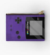 Gameboy Color 2.0 - Purple Zipper Pouch