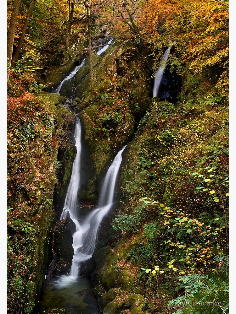 Stock Ghyll Force - The Lake District by DLLP