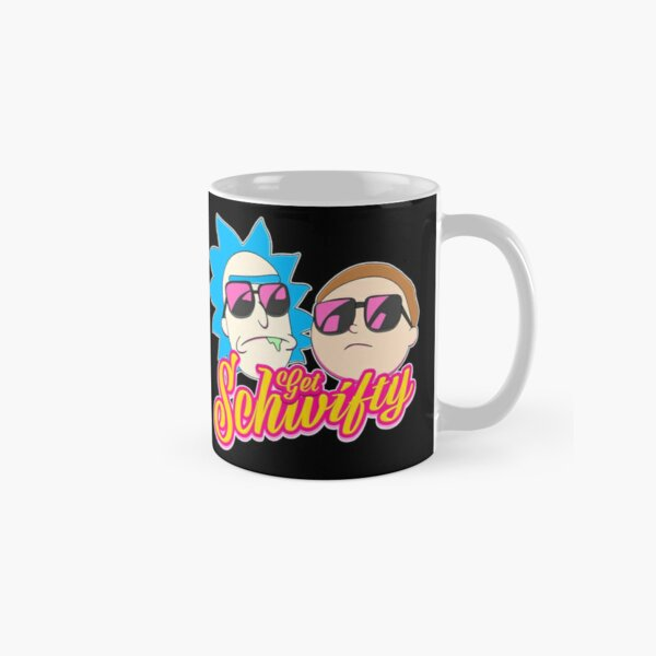 Rick And Morty : Get Schwifty Classic Mug