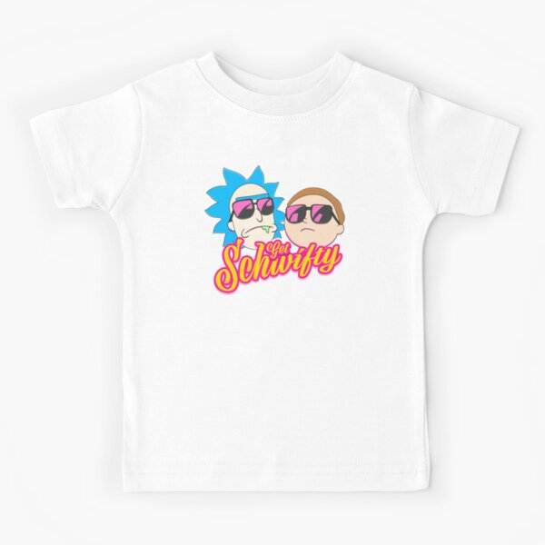 Rick And Morty : Get Schwifty Kids T-Shirt