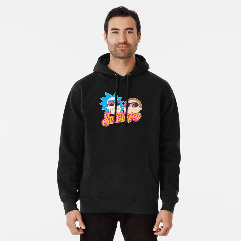 Rick And Morty : Get Schwifty Pullover Hoodie