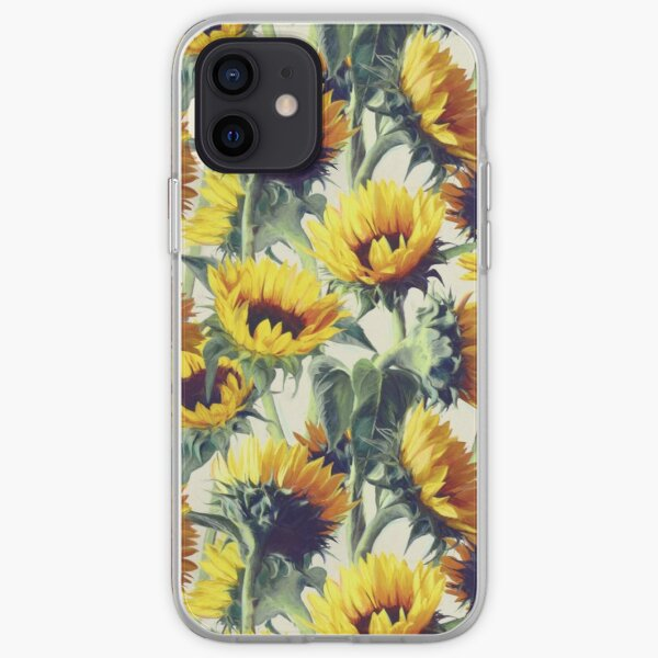 Sunflowers Forever iPhone Soft Case
