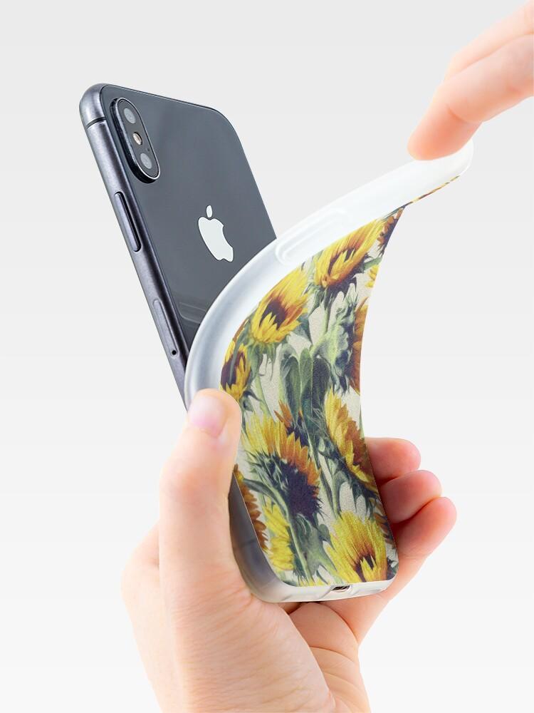 Alternative Ansicht von Sonnenblumen für immer iPhone-Hülle & Cover